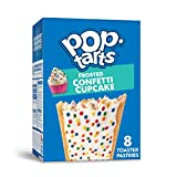 Pop-Tarts, Breakfast Toaster Pastries, Frosted Confetti Cupcake, Proudly Baked in the USA,...