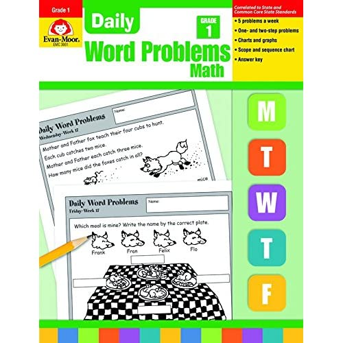How To Make Every Grade More Like >> Amazon Com Daily Word Problems Grade 1 Math 0023472030016