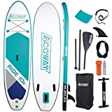 "Best Paddle Boards - Acoway Inflatable Stand Up Paddle Board, 10'6"" Long Review"