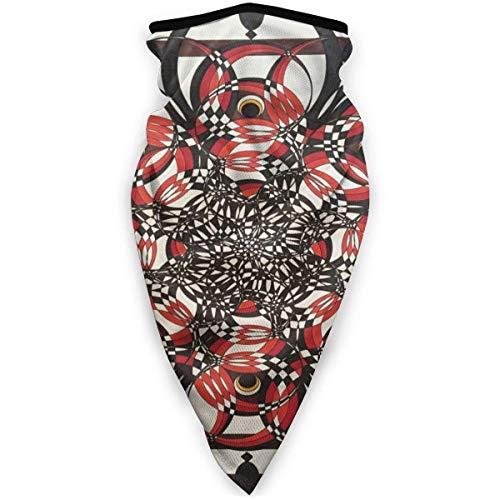 GUPENG Diadema de pergamino egipcio antiguo para mujeres, hombres, polaina para el cuello, bandana unisex, resistente al viento, bufanda para la cara de motocicleta, color negro