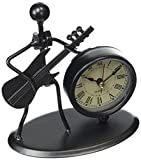 Gewa 980706 Sculpture avec horloge Motif Guitare