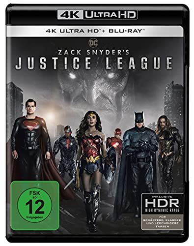 Zack Snyder's Justice League (4K Ultra HD) [Blu-ray]