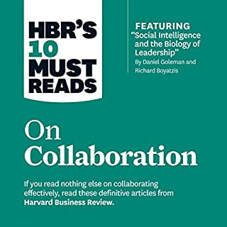 HBR's 10 Must Reads on Collaboration cover art