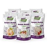 nutristyle Shirataki Konjak Nudeln, Mischkarton, 10 x 270g, Pasta-Alternative mit nur 6 kcal, ideal für eine kalorienarme Ernährung geeignet - Angebotspreis
