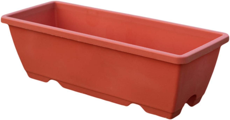 GREENSTORE 3PCS 本日の目玉 Window Box Tray Planter with Rectangle 新作