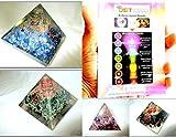Jet International Exquisito Cuatro (4) Lapis Green Mica Amethyst Tourmaline Pyramid 1 Cada Mejor Oferta Folleto Gratis Terapia de Cristal Piedras Preciosas de Cristal Cobre Metal UPS Envío Acelerado