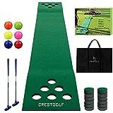 Golf Pong Game Set Green Mat,Golf Putting Mat...