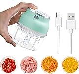 Ashopfun Electric Fruit Vegetable Onion Garlic Cutter Food Speedy Chopper Mini Slicer,USB...