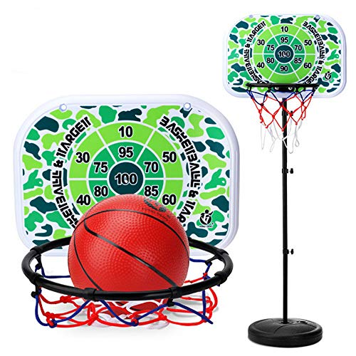 For Sale! HTYX Children's Basketball Stand Camouflage Indoor Shooting Frame Sports Toys Portable Gif...