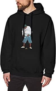LILY POWER Golf Wang Tyler The Creator Men's Fashion Long Sleeve Fleece Sweater Pullover Black