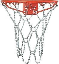 Crown Sporting Goods Outdoor Galvanized Steel Chain Basketball Net