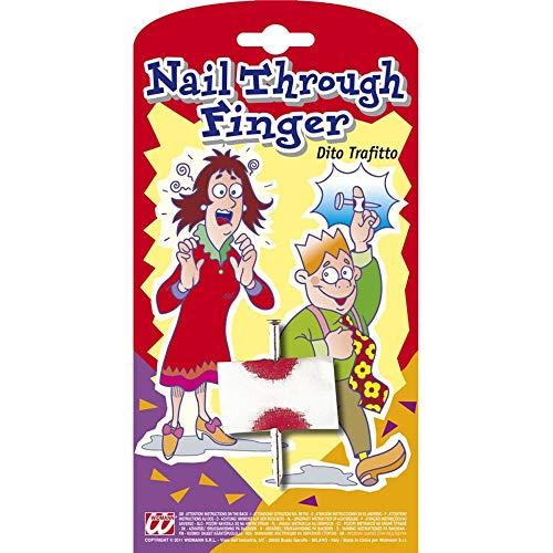 Widmann – nagel volgende zijden vingers met hoofdband dames – frisartikel carnaval, 4803d