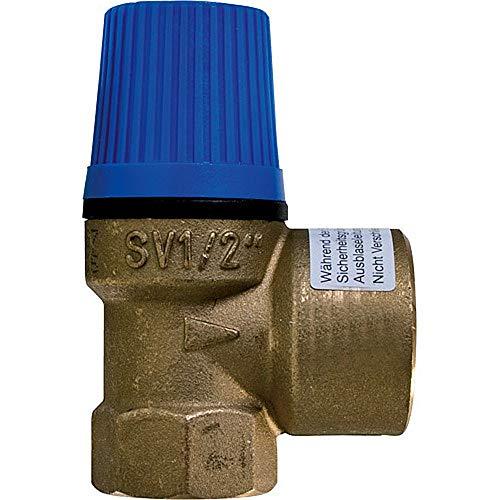 """Caleffi Membran Sicherheitsventil Überdruckventil Wasser 3/4"""" x 1"""" - 8 bar"""