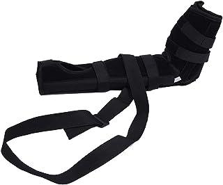 SUPVOX 肘ブレース 関節サポート アームリーダー 保護 固定 腕つり 関節 保護 男女兼用 調節可能 通気性 術後ケアブレース(ブラック サイズS)
