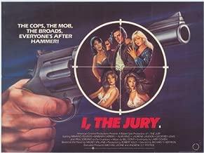 I the Jury Movie Poster (27 x 40 Inches - 69cm x 102cm) (1982) -(Armand Assante)(Barbara Carrera)(Laurene Landon)(Alan King)(Geoffrey Lewis)(Paul Sorvino)