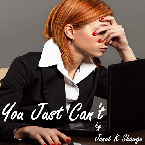 You Just Can't audiobook cover art