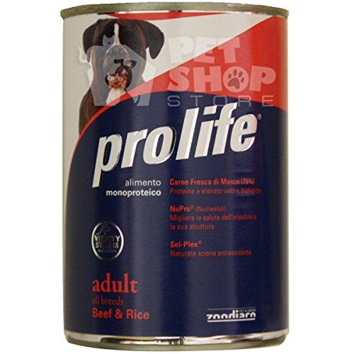 ProLife – Adult All Breeds bœuf et riz 400 gramm