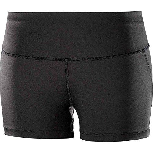 Salomon Damen Agile Tight Lauf Shorts, Schwarz, M EU