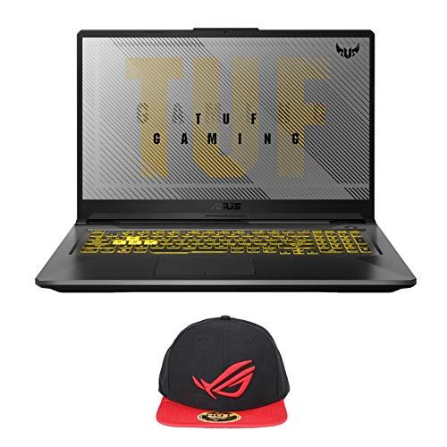 ASUS TUF Gaming A17 TUF706IU-AS76 Enthusiast (AMD Ryzen 7 4800H, 16GB RAM, 2X 1TB NVMe SSD, GTX1660Ti 6GB, 17.3' 120Hz Full HD, Windows 10) Gaming Notebook