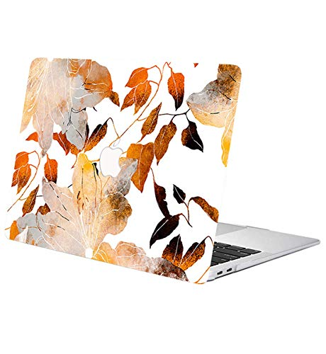ACJYX Compatible with MacBook Pro Retina 13 inch Case (Models: A1502 & A1425) Older Version 2015 2014 2013 end 2012, Protective Print Pattern Plastic Protective Hard Shell Case, Maple Leaf