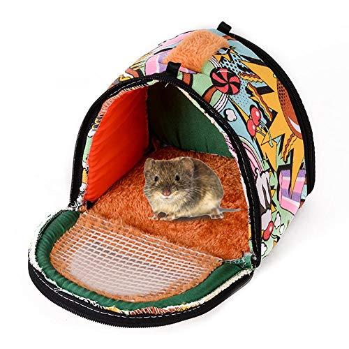 Eternitry - Saco de dormir para mascotas, diseño de hámster pequeño, suave y cómodo