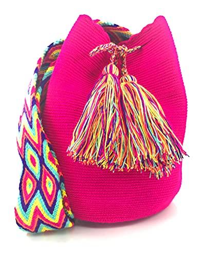 COLOMBIAN STYLE Bolsos Colombianos Artesanales, mochilas Wayuu, tanto para mujer como para hombre.