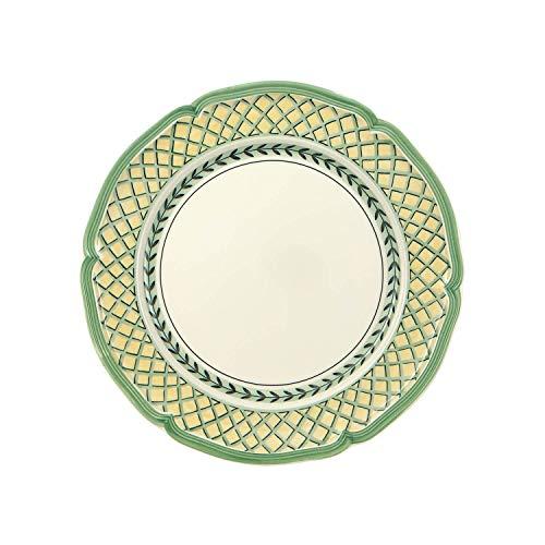 Villeroy & Boch French Garden Orange Assiette plate, 26 cm, Porcelaine Premium, Blanc/Multicolore