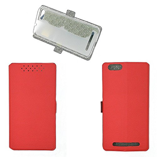 QiongniAN Hülle für GiONEE Elife S Plus hülle Schutzhülle Hülle Cover Red
