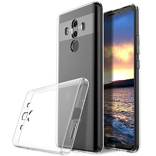 Cover Huawei Mate 10 Pro, Digital Bay Cover Huawei Mate 10 Pro [TPU Shock-Absorption] **Capsule**Crystal Clear** Assorbimento di Scossa Chiaro TPU Goccia Protezione, Custodia Huawei Mate 10 Pro