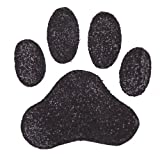Dog Rubber Stamp - Paw Print Jumbo-1002F (Size: 2-3/4' Wide X 2-3/4' Tall)
