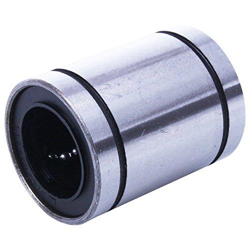 CUHAWUDBA Lm20Uu 20Mm Innen Durchmesser Linear Kugel Lager, Buchsen Silber