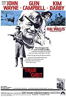 MariposaPrints 66202 True Grit John Wayne, Glen Campbell, Kim Darby Decor Wall 24x18 Poster Print