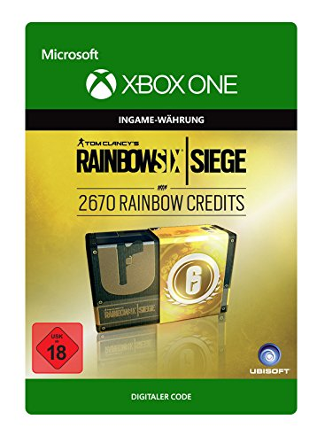 Tom Clancy's Rainbow Six Siege Currency pack 2670 Rainbow credits [Xbox One - Download Code]