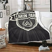 Linkin Park 毛布 人気 エアコン用毛布 軽くて暖かい ソフトタッチ 抗菌・防臭・防ダニ 大判サイズ オールシーズン ファッション 毛布