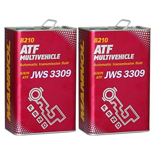 2 x 4L MN 8210 ATF Multivehicle / Automatikgetriebeöl JWS 3309 ATF Type T/T-II/T-III/T-IV