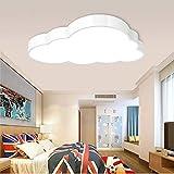 36W Extra-Sottile 5CM Lampada da soffitto a LED Nuvola Cameretta per bambini Plafoniera Nuvole Illuminazione a soffitto Lampada a nuvola per cameretta, scuola materna, Luce calda