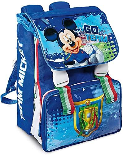 Mickey Mouse Topolino Zaino Estensibile Grande per Scuola Elementare