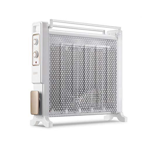 SHENXINCI 2200W Radiador de Mica, 3 Potencias de Calor, Termostato Regulable, Protección contra Sobrecalentamiento, Mecánico...