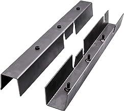 Left /& Right Center Skid Plates Rust Repair Frame for Jeep Wrangler YJ 1987 1988 1989-1995