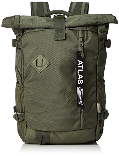 Coleman Atlas Roll-Tasche, 33 l, Polyester, 5 Taschen, Cactus Green (Grün) - 2000032980