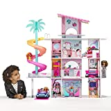 LOL Surprise OMG House of Surprises – New Real Wood Doll House w 85+ Surprises   4 Stories, 10 Rooms Including Elevator, Bedroom, Pool, Bathroom, Fully Equipped Kitchen, Living Room, Rooftop and More