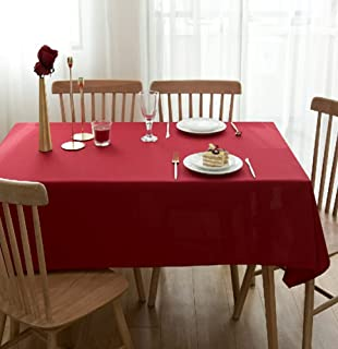 Red Tablecloth Kitchen European Style Garden Living Room Wedding Party Soft And Antifouling Rectangular Hotel Christmas Ne...