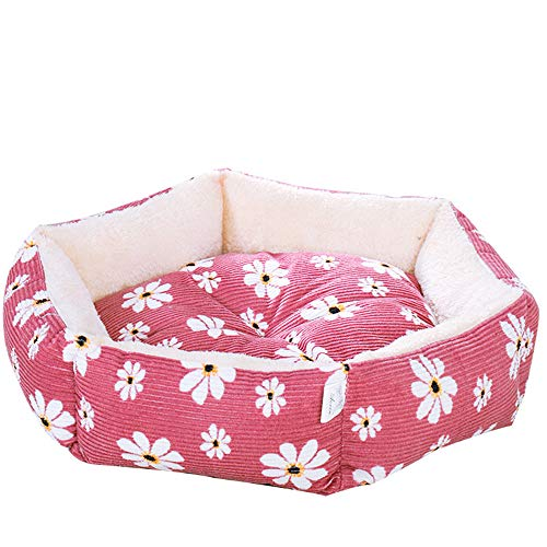 Super Soft Pet Bed Round Or Oval Shape Dimple Fleece Nesting Dog Cave Bed Pet Cat Bed For Cats And Small Dogs - Choice Of Size