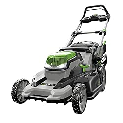 electric lawn mower ego power