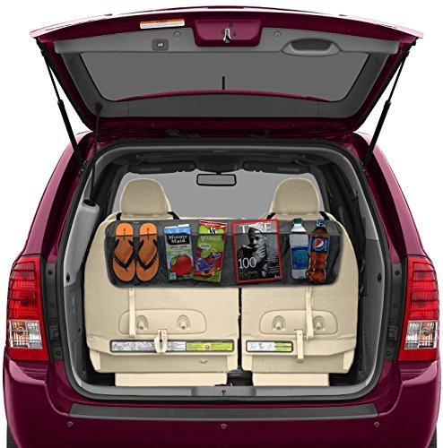 lebogner LOR-A-1005 Backseat/Trunk Organizer, 5 Pocket Auto Interior, Perfect Car, Multipurpose Cargo Accessories Organizer