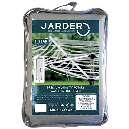 Jarder tendedero rotatorio Cubierta, calidad superior, 100% resistente al agua