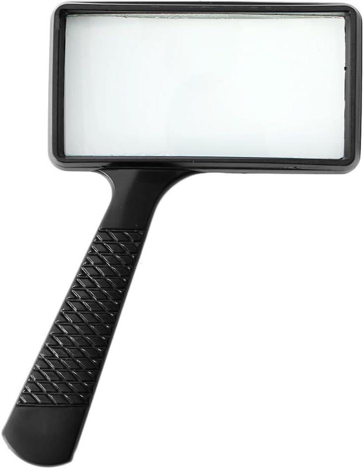 Susada Magnifier shop Handheld Rectangular 5X Glass Ranking TOP7 Magnifying Loupe