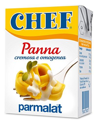 Parmalat Panna chef per cucinare Sahne Kochcreme creme fur Koch 200ml