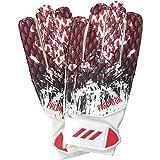 adidas Kinder PRED GL TRN MNJ Soccer Gloves, White/Black/Active red, 5