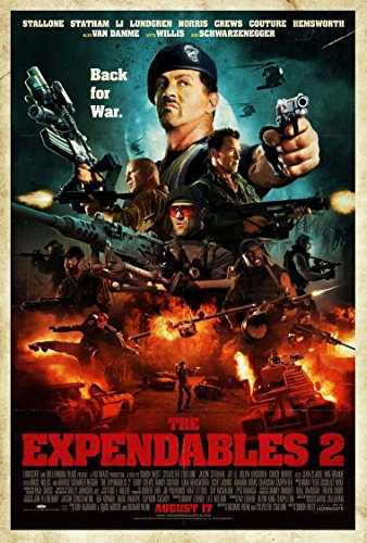 Poster The Expendables 2 Movie 70 X 45 cm